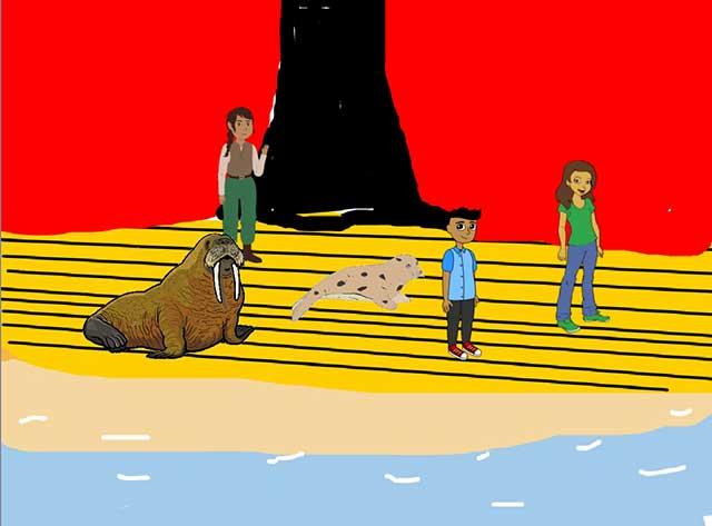 Асен Петросян Scratch-проект Поход в дельфинарий